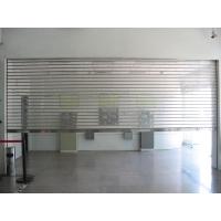广州水晶卷闸门价格、广州电动水晶门安装店铺水晶门