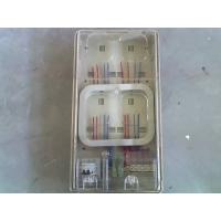透明4表位电表箱