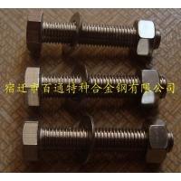 硫酸化工厂专用耐酸螺栓--高强度耐酸螺栓