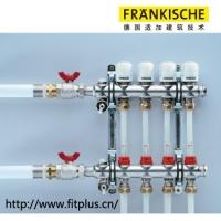 德国适加管道 置顶调节阀带流量计分集水器