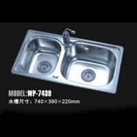 威普电器 不锈钢水槽WP-7439