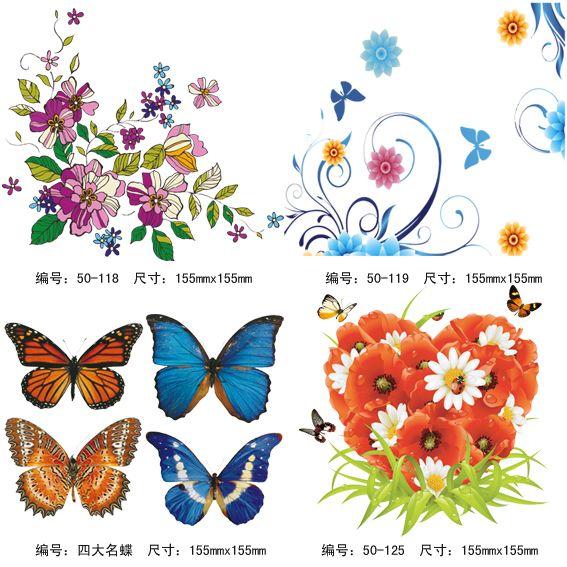 以动植物为主题的图案设计作业