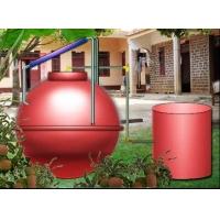 太阳能装配式干发酵沼气罐