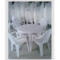 全新料透明户外塑料桌椅