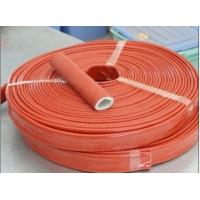 耐高温隔热硅胶玻纤套管