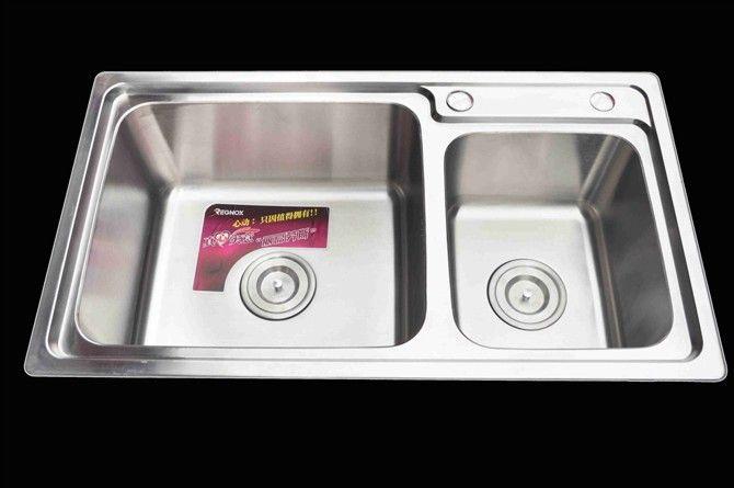 成都牧蒙精品水槽-不锈钢双槽水槽