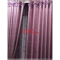 重庆窗帘超级热卖紫色心跳免费加工安装