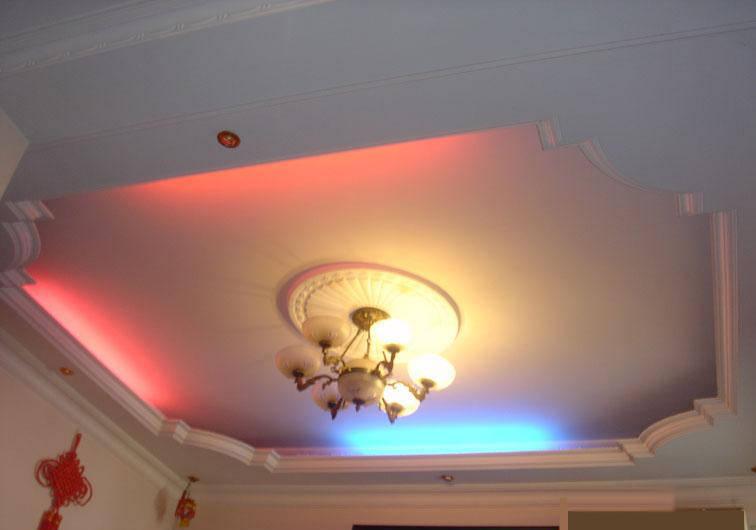 石膏吊顶灯盘效果图