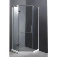 钻石形淋浴房_非标定制_8MM-10MM钢化玻璃_整体淋浴房
