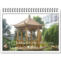 ◆◆济南六角凉亭◆◆-豪家园防腐木业