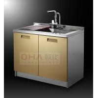 (批发零售)欧化不锈钢整体橱柜、门板、水槽、台面