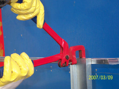 轻钢龙骨吊顶工具龙骨钳