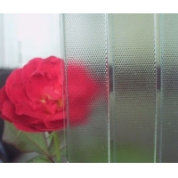 四季红压花玻璃