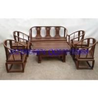 红酸枝皇宫椅沙发,鸡翅木沙发红木沙发.古典红木家具