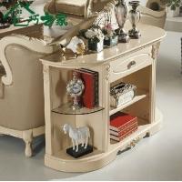 七巧之家 客厅柜 装饰柜 橱柜沙发背柜