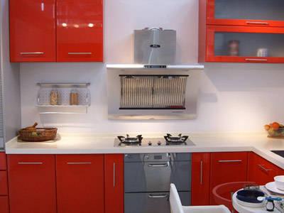 上海多环整体厨房小家电安装效果展示1