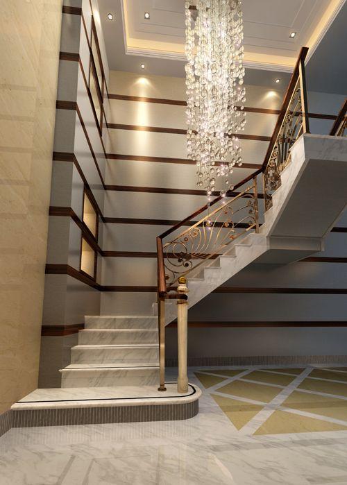 南京铁艺-嘉吉隆装饰-楼梯扶手