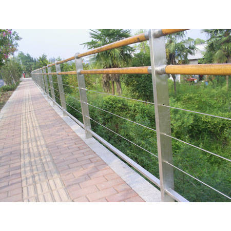 南京不锈钢制作-南京嘉吉隆不锈钢-景观大道栏杆