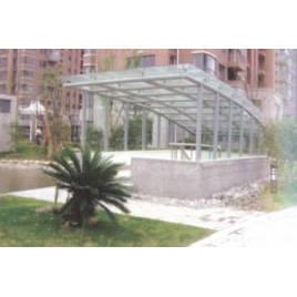南京雨蓬-不锈钢雨蓬3
