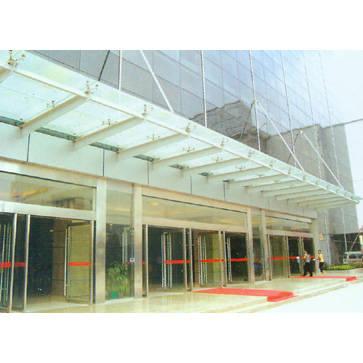 南京雨蓬-不锈钢雨蓬5