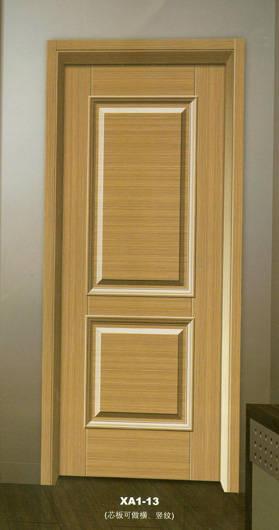 成都轩园套装门环保型拼装工艺无弯曲开裂
