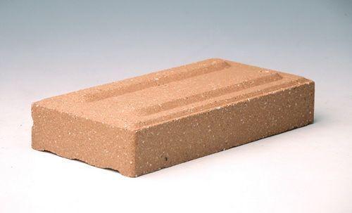 米黄色盲道烧结砖,盲道砖,陶土通体砖