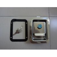 友航汽车锁系列不锈钢材质挖手汽车面板锁盒锁