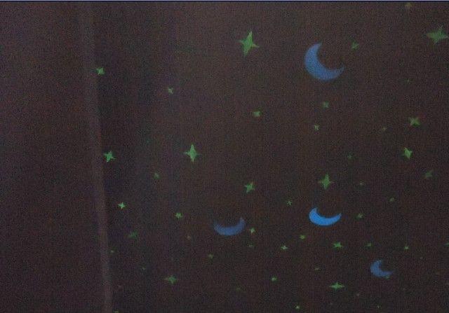 荧光漆星空手绘图片