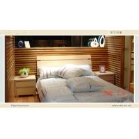 米兰印象整体衣柜 板式床系列