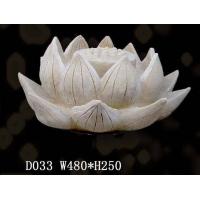 莲花砂岩雕塑