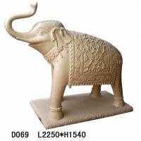 大象砂岩雕塑