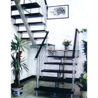 南京钢木楼梯-南京轩步楼梯-钢木楼梯-MP-001