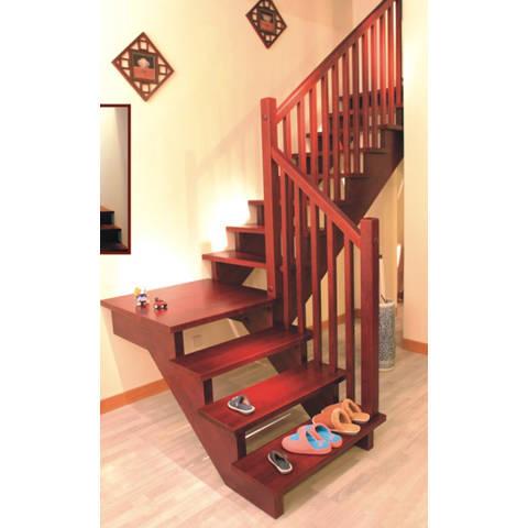 南京楼梯-南京实木楼梯-大发彩票-实木楼梯-HY012