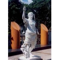 汉白玉/青石景观雕刻|城市雕塑|西方人物