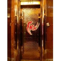 杭州酒店不锈钢包厢门/玫瑰金包厢门厂家直销/发光包厢门价格