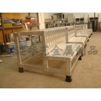 铝合金踏台、铝跳板、操作台、工作台、舾装件