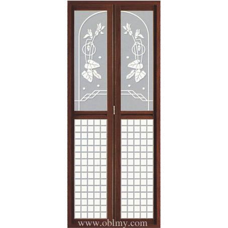 南京门业-欧堡罗精品内门-有轨小折叠门-6