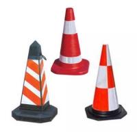 橡胶塑料PE/PVC路锥,交通安全标志,重庆锥形路标,重庆路