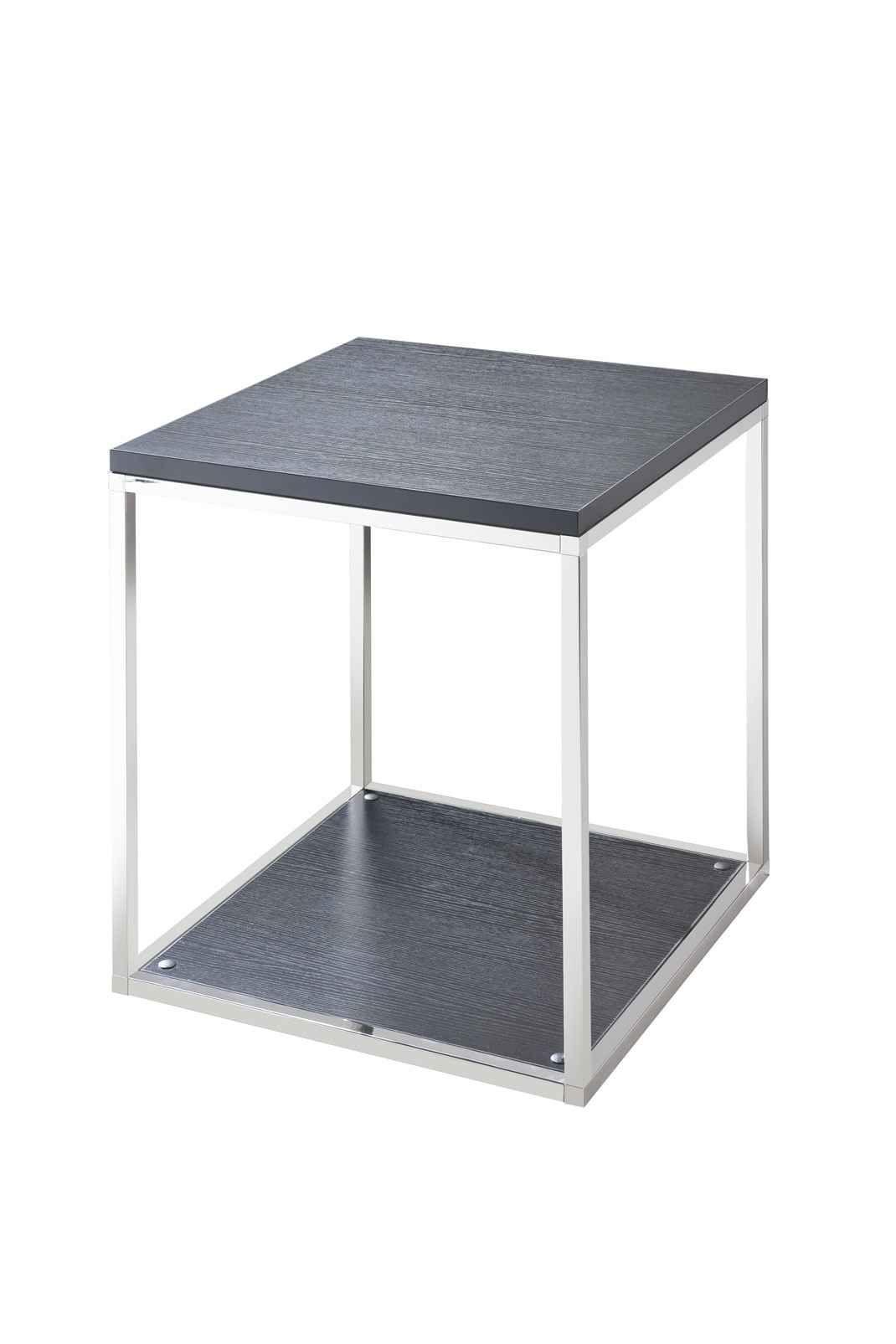 欧式时尚简单组合型不锈钢双层板式方机角机