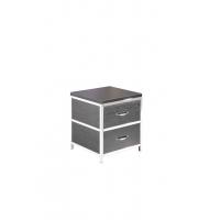 欧式时尚简单组合型不锈钢酒店/家用床头柜