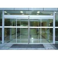 天津津南区玻璃门专业厂家,清华安装不锈钢玻璃门