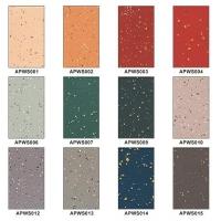 成都橡胶卷材/片材地板 同质透心细波纹橡胶地板