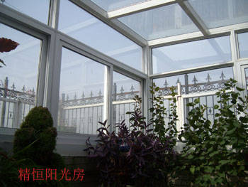 北京精恒阳光房门窗厂设计,制作玻璃阳光房,玻璃屋,中