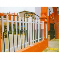 南京度恒铁艺-PVC护栏-围墙护栏
