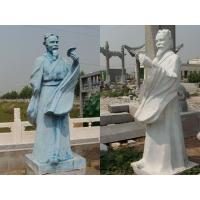 药王医圣名医雕像,石雕华佗,张仲景等古今中外名人雕像