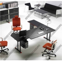 优质主管桌,大班台,前台办公桌,老板桌,请选择烟台利百加家具