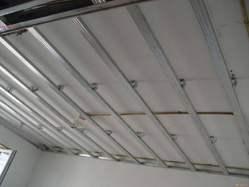 吊顶木龙骨双层结构图展示