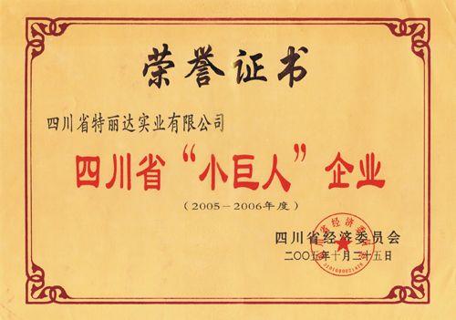 "四川省""小巨人""企�I"