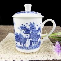 北京陶瓷办公杯天津纪念杯办公用杯批发