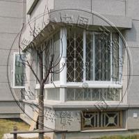 无锡坤宁牌推拉式锰钢内置防盗窗家用防盗门窗招商加盟代理